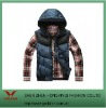 fashion casual wear vest with hoody no sleeves