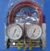 Refrigerant manifold set