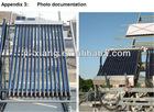 Vacuum tube solar collectors -- Keymark/EN-12975,SRCC,ISO,CE,CCC