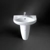 Wash Basin & half Pedestal HDLP203-A