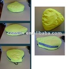 High visibility reflective cover for bicycle