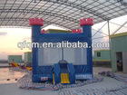 2011 hot sale multifunctional holidays inflatable trampoline and jumping bed with castle for children made in China