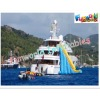 Commercial inflatable water slide float Fortunado for sale (wat-584)
