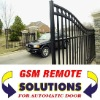 Automatic door GSM opener for electric gate and automatic door