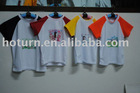 sublimation blank polyester T-shirt for children