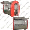 4 Fashionable mobile snack cart