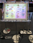 Exhibition stand led crystal light box