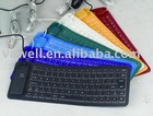 85 key silicone keyboard/usb keyboard/usb promotion gift/usb products