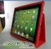 Universal for ipad 3/ new i-pad for ipad 2 pu leather case with stand holder