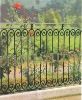 WH-079B 2012 Outdoor and Steel garden wrought iron fence