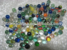 16mm mixed glass marbles