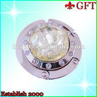 Round Flower Gem bag holder for table GFT-BH-B009