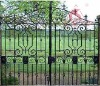 artistic iron gate