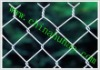 factory .green PVC coated chain link fence