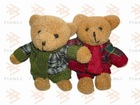 Fashion couple bears Keychain