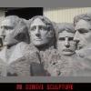 Rushmore Mount Miniature,Fiberglass sculpture for park
