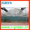 butterfly ventilation plastic greenhouse for vegetable