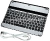 Factory price ,2012 Newest design Aluminum Case Cover Wireless Bluetooth Keyboard