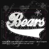hot sale new bears with rhinestone sequins transfer design