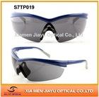 Lens interchangeable safety glasses eyewear