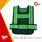 High Visible Reflective Road Safety Mesh Jackets For Motorcycle Driver