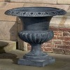 cast iron planters and urns