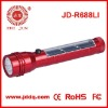 solar power recharge flashlight torch