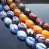 millefiori crystal glass bead
