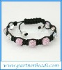 Shamballa bracelets hot sale crystal disco ball bracelets