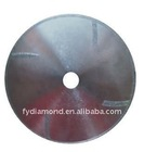 Electroplated saw blade