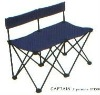 blue double camping chair 13911