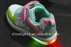 girl's leisure shoes with led light YX-8502