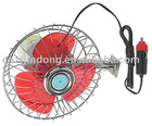 dc 12v 6 inch car fan(ce/rohs)