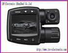 digital mini dv 720p dual lens car recorder