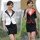 2012 new arrival formal ladies office uniform