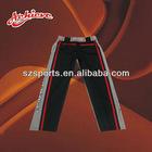 polyester custom team baseball trouser style pant