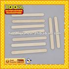 grade AA round edge sterile bamboo ice cream stick