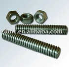 carbon steel Nuts and threaded rods