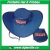 190T Nylon logo printing foldable Cowboy Hat