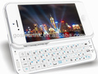 For Iphone 5 bluetooth keyboard case. slide-out keyboard