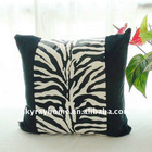 Animal zebra grain pillows