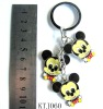 Mickey mouse charm keychain