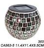 Solar Mosaic Jar