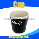 creative color changing magic porcelain mug cup