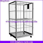 KingKara KAHT07 Metal Steel 3 SIDED CARTS for industry store