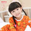 2012 Newest Instock - Items Cut Christmas Children Pajamas For 2- 12 years old Girls Factory Export Wholesale