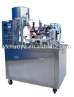 composite tube filling machine with closures tail