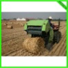 grass wheat straw rice straw round baler