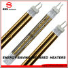 gold plated high quality quartz infrared electric halogen tube heater with italian technology