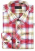 plaid flannel custom tailor mens shirt